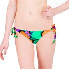 Abstract Acryl Art Bikini Bottom