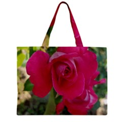 Romantic Red Rose Photography Zipper Mini Tote Bag by yoursparklingshop
