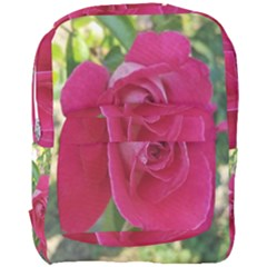 Romantic Red Rose Photography Full Print Backpack by yoursparklingshop