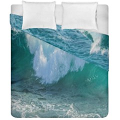 Awesome Wave Ocean Photography Duvet Cover Double Side (california King Size) by yoursparklingshop