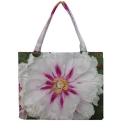 Floral Soft Pink Flower Photography Peony Rose Mini Tote Bag by yoursparklingshop