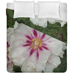 Floral Soft Pink Flower Photography Peony Rose Duvet Cover Double Side (california King Size) by yoursparklingshop