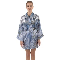 Color Magic Long Sleeve Kimono Robe by JUST4U2