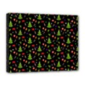 Christmas pattern Canvas 14  x 11  View1