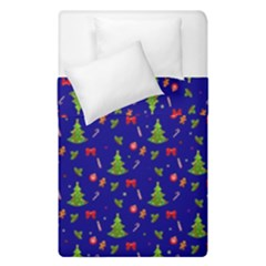 Christmas Pattern Duvet Cover Double Side (single Size) by Valentinaart