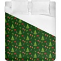Christmas pattern Duvet Cover (California King Size) View1