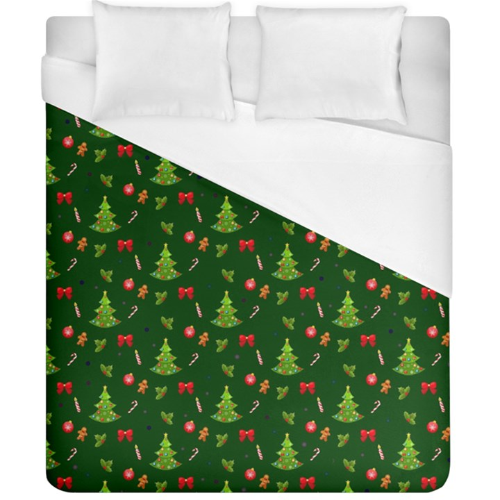 Christmas pattern Duvet Cover (California King Size)