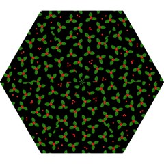 Christmas Pattern Mini Folding Umbrellas by Valentinaart