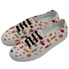 Thanksgiving Men s Classic Low Top Sneakers by Valentinaart