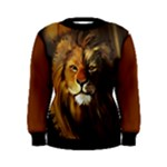 lion womens sweater - Women s Sweatshirt