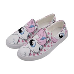 Baby Unicorn Women s Canvas Slip Ons by Valentinaart