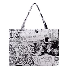 Graffiti Medium Tote Bag by Valentinaart