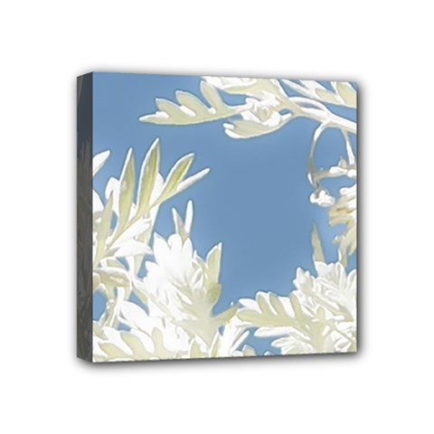 Nature Pattern Mini Canvas 4  X 4  by dflcprintsclothing