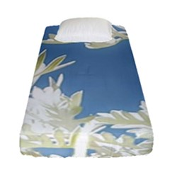 Nature Pattern Fitted Sheet (single Size) by dflcprintsclothing