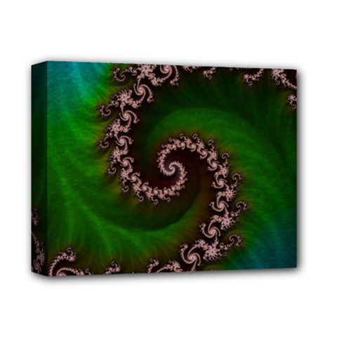 Benthic Saltlife Fractal Tribute For Reef Divers Deluxe Canvas 14  X 11  by jayaprime