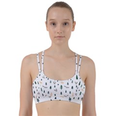 Squirrel Rabbit Tree Animals Snow Line Them Up Sports Bra