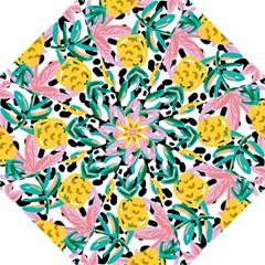 Fruit Pattern Pineapple Leaf Straight Umbrellas by Alisyart