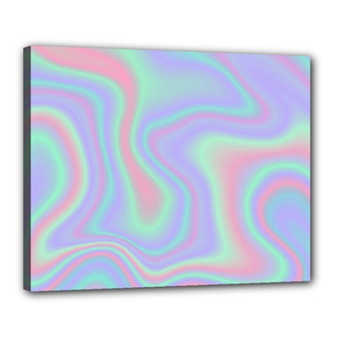 Holographic Design Canvas 20  X 16  by tarastyle