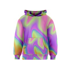 Holographic Design Kids  Pullover Hoodie