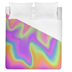 Holographic Design Duvet Cover (queen Size)