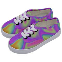 Holographic Design Kids  Classic Low Top Sneakers by tarastyle