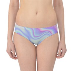 Holographic Design Hipster Bikini Bottoms