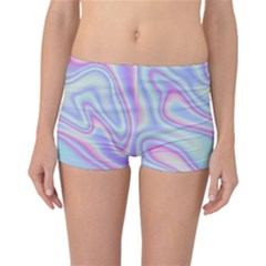 Holographic Design Reversible Boyleg Bikini Bottoms