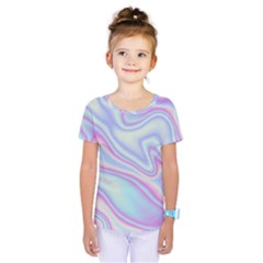 Holographic Design Kids  One Piece Tee