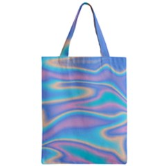 Holographic Design Zipper Classic Tote Bag by tarastyle