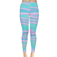 Holographic Design Leggings  by tarastyle