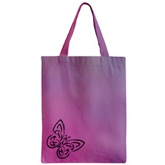 Butterfly Zipper Classic Tote Bag by PhotoThisxyz