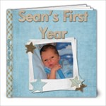 First Year Book - 8x8 Photo Book (20 pages)