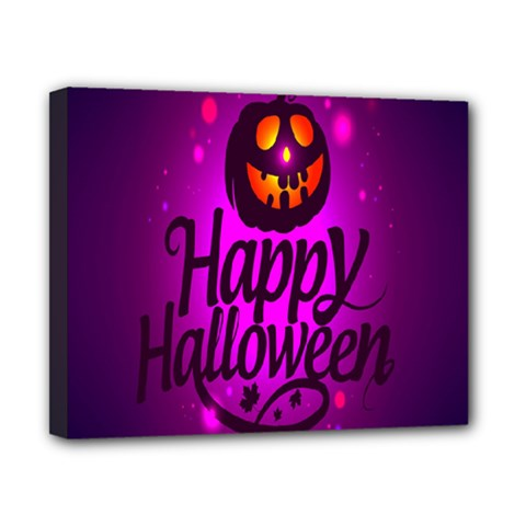 Happy Ghost Halloween Canvas 10  X 8  by Alisyart