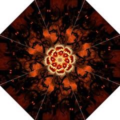Halloween Pumpkins Tree Night Black Eye Jungle Moon Folding Umbrellas by Alisyart