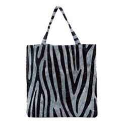 Skin4 Black Marble & Ice Crystals (r) Grocery Tote Bag by trendistuff
