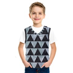 Triangle2 Black Marble & Ice Crystals Kids  Sportswear