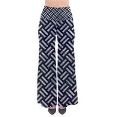 Woven2 Black Marble & Ice Crystals (r) Pants by trendistuff