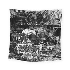 Graffiti Square Tapestry (small) by ValentinaDesign