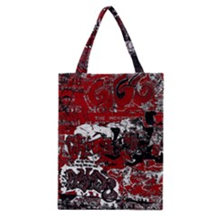 Graffiti Classic Tote Bag by ValentinaDesign