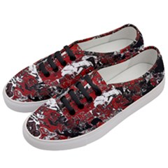 Graffiti Women s Classic Low Top Sneakers by ValentinaDesign