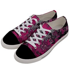 Graffiti Women s Low Top Canvas Sneakers by ValentinaDesign