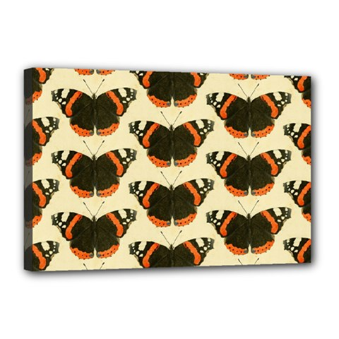 Butterfly Butterflies Insects Canvas 18  X 12  by Celenk