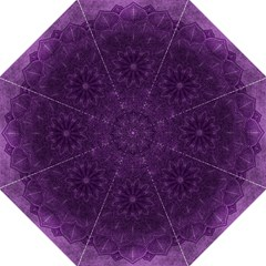 Background Purple Mandala Lilac Folding Umbrellas by Celenk