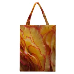 Flowers Leaves Leaf Floral Summer Classic Tote Bag by Celenk