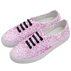 Halftone Dot Background Pattern Women s Classic Low Top Sneakers by Celenk