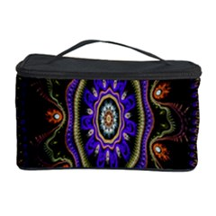 Fractal Vintage Colorful Decorative Cosmetic Storage Case by Celenk