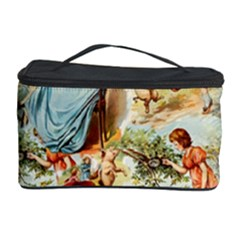 Seamless Vintage Design Cosmetic Storage Case by Celenk