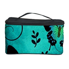 Texture Butterflies Background Cosmetic Storage Case by Celenk