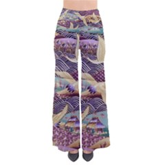 Textile Fabric Cloth Pattern Pants by Celenk