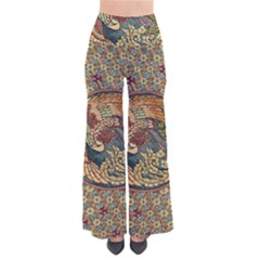 Wings Feathers Cubism Mosaic Pants by Celenk